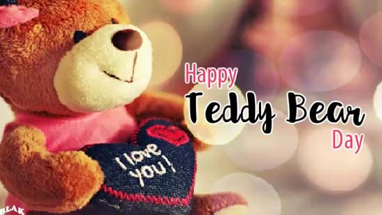 Send Teddy Bear Day Wishes!