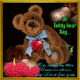 My Love For You On Teddy Bear Day.