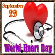 World Heart Day Ecard.