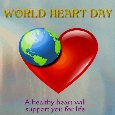 Home : Events : World Heart Day 2020 [Sep 29] - A Healthy Heart Card.