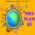 Home : Events : World Tourism Day 2020 [Sep 27] - My World Tourism Day Card For You.