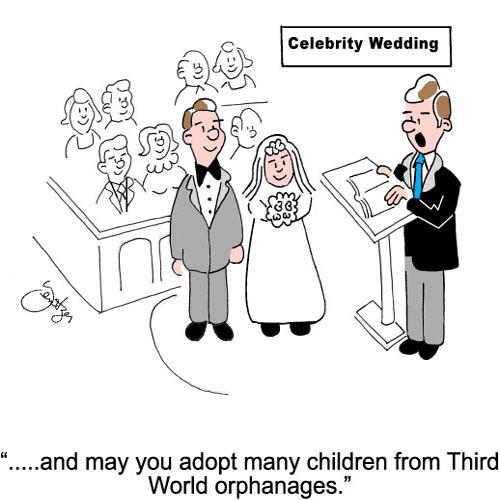Celebrity Wedding.