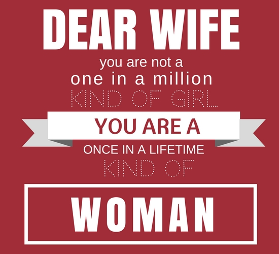 One In A Million Wife.