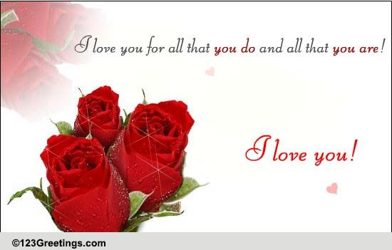 valentines day quotes for your best friend - You Are Everything Free Husband & Wife eCards Greeting