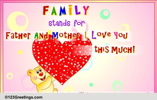Send Family Greetings!