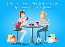 My Best Friend My Sister. Free Sister eCards, Greeting Cards | 123