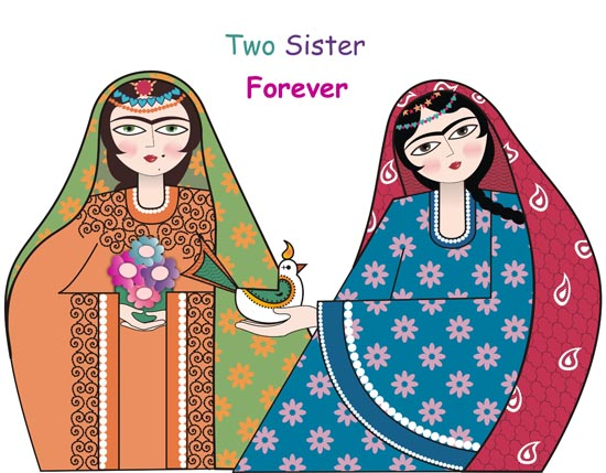 Two Sisters Forever.