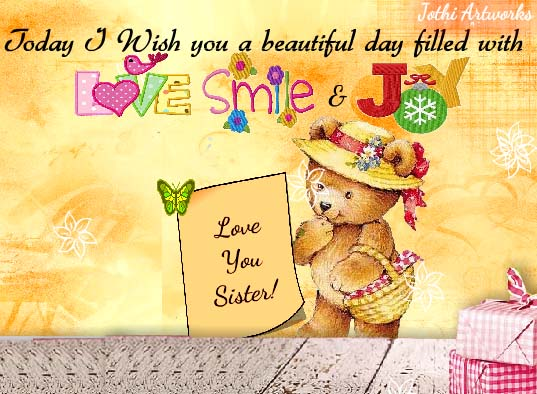 Family Sister Cards, Free Family Sister Wishes, Greeting Cards | 123  Greetings