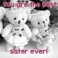 Best Sister Ever Card.