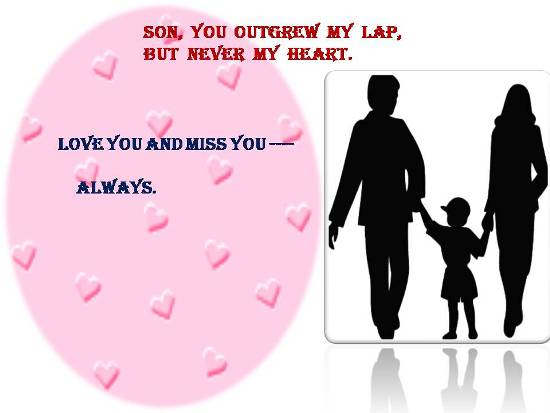 Express Your Love For Your Son.