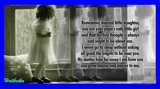 Dearest Little Daughter.