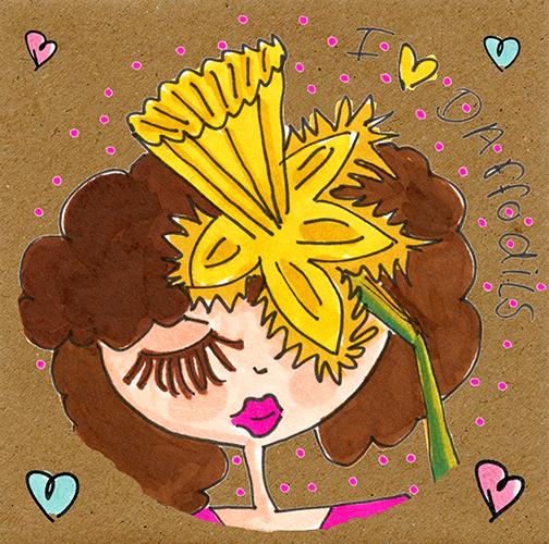 I Love Daffodils.
