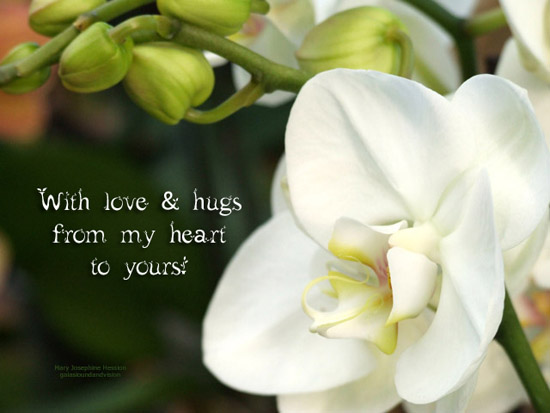 With Love And Hugs.