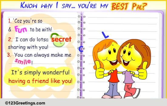 Autograph Quotes For Best Friends In English : Friendship slam book free best friends ecards greeting
