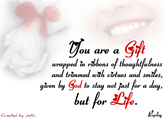 You Are My Gift Free Best Friends ECards Greeting Cards