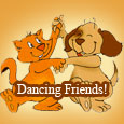 Dancing Friends.