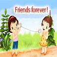 Home : Friendship : Friends Forever - Friends Are Like Flowers...