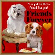 Home : Friendship : Friends Forever - A Very Cute Friendship Card.