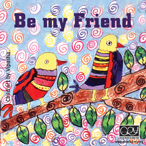 Be My Friend!