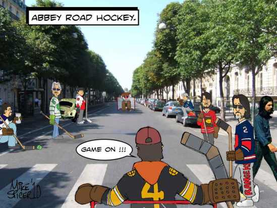 Abbey Road Hockey.
