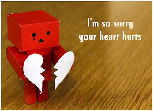 I'm Sorry, Your Heart Hurts.