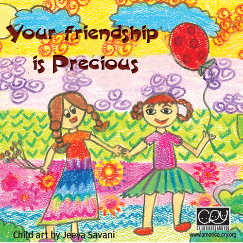 Your Friendship Is Precious!