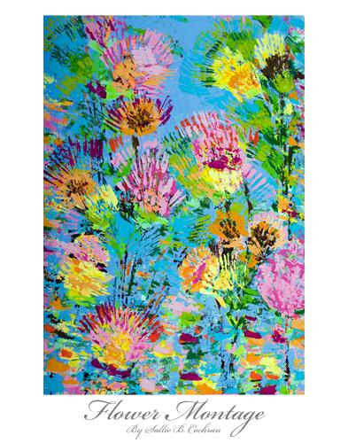 Flower Montage.