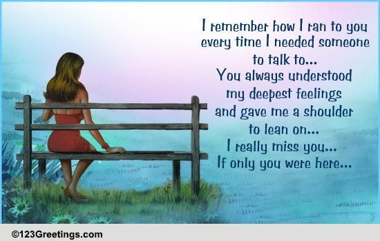 a heartfelt miss you message free miss you ecards