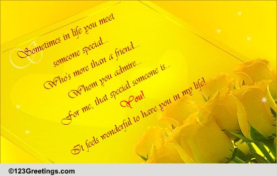a special friend like you free special friends ecards