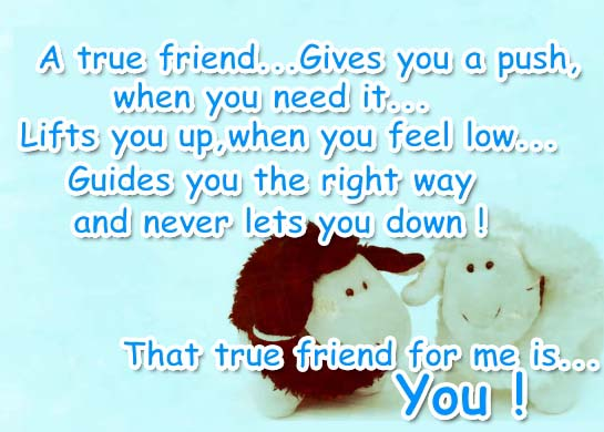 You Are A Very Good Friend... Free Special Friends eCards ...