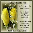 Love You My Friend.