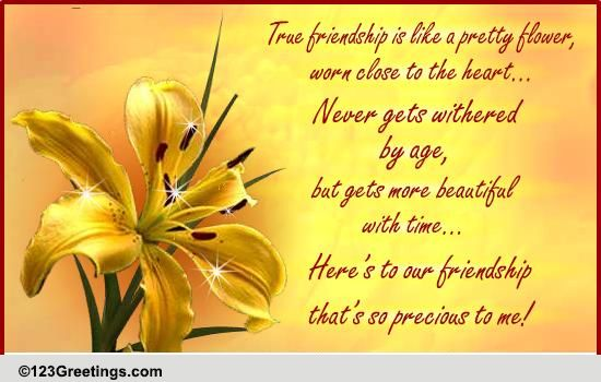 Friendship Thoughts Cards Free Friendship Thoughts Wishes