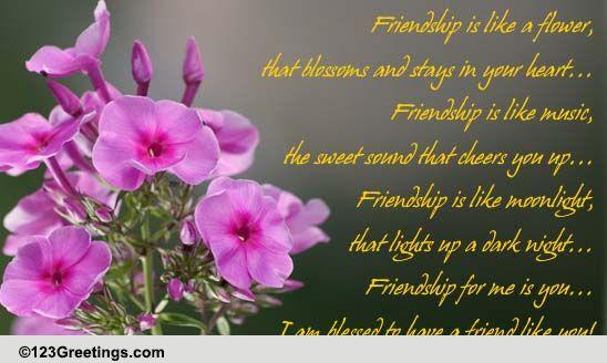 Send Friendship Greetings!