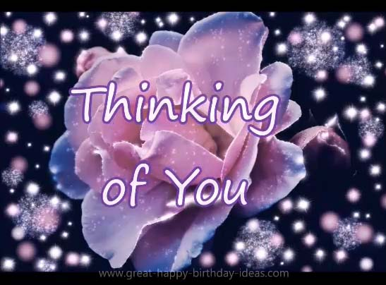 Im Thinking Of You Today And Always. Free Thoughts eCards   123 Greetings