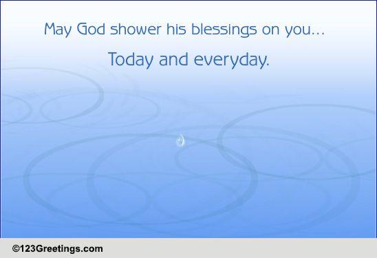 Shower God