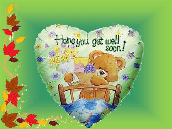 A Get Well Soon Msg For Ur Loved One.