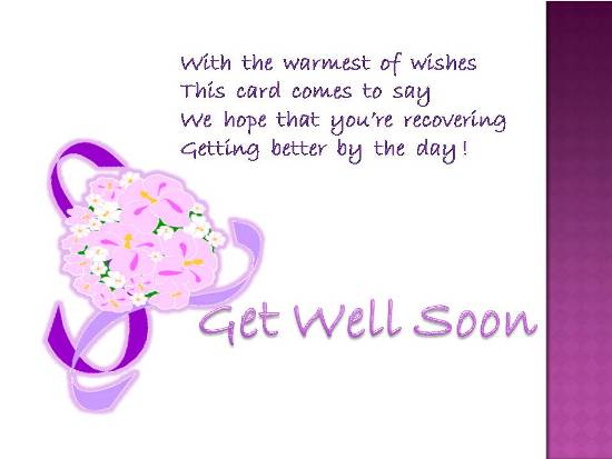 A Get Well Wish For Your Dear One.