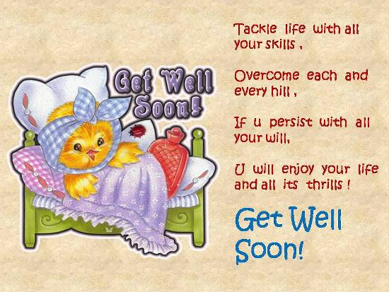 Get Well Message For Your Loved One.