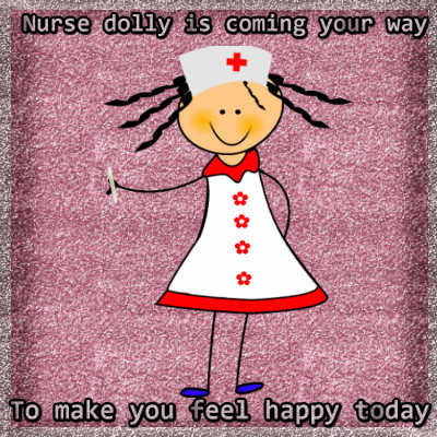 Nurse Dolly Is On Her Way...