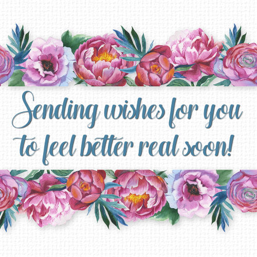 Feel Well Soon Messages: Feel Better Soon Wishes, Flowers. Free Get Well Soon