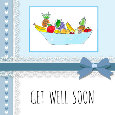 Get Well Soon Fruit Basket.