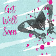 Get Well Soon Butterfly.