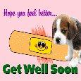 Hope You Feel Better Soon Ecard.