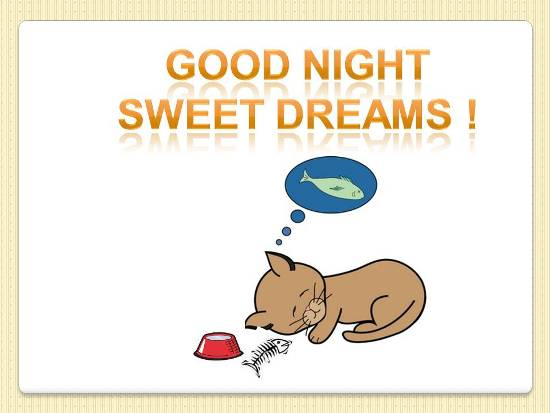 Good Night Wish For A Loved One.