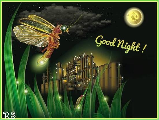 A Glowing Good Night Wish For You. Free Good Night eCards | 123 Greetings