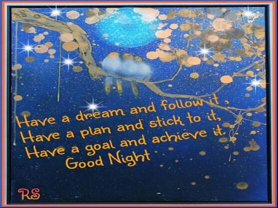 Inspiring Message For A Good Night! Free Good Night eCards