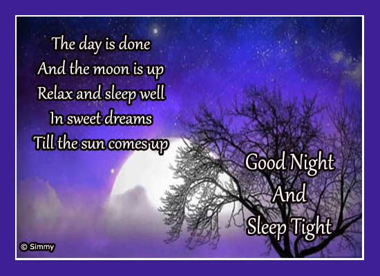 Good night wish just for you free good night ecards greeting good night wish just for you m4hsunfo Images