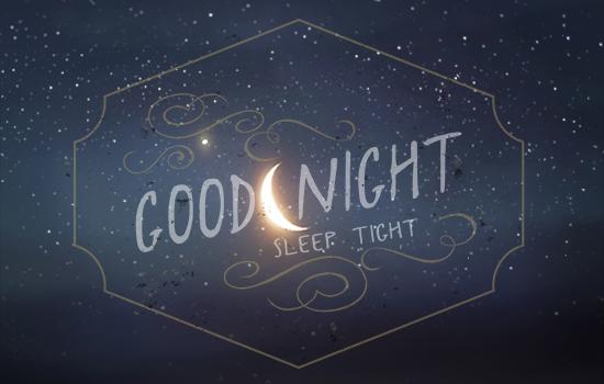 good night sleep tight shiny moon  free good night ecards