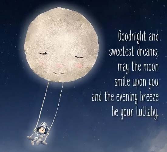 Good Night And Sweetest Dreams. Free Good Night eCards