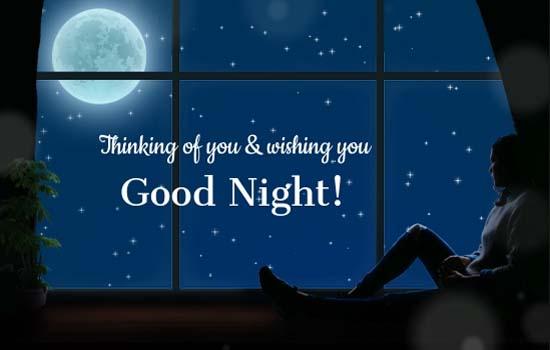 good night for him free good night ecards greeting